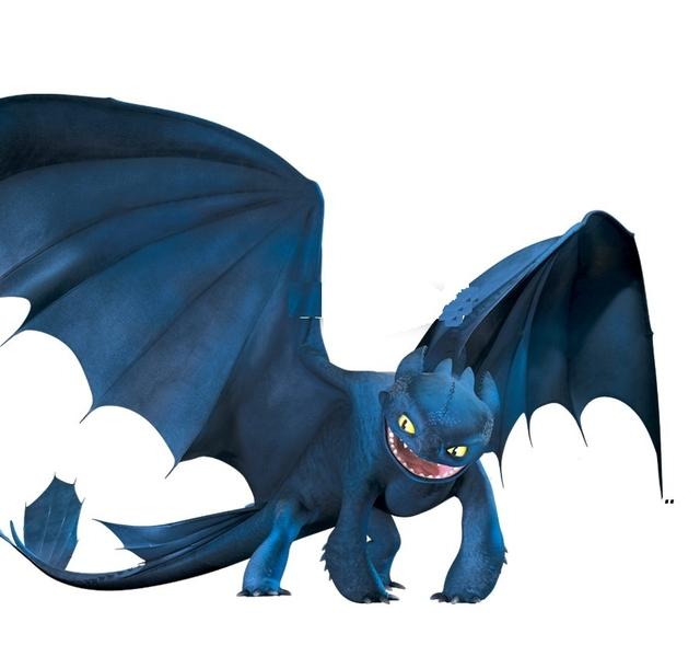 MAR359 Die Drachenreiter von Berk - Drache Nachtschatten
