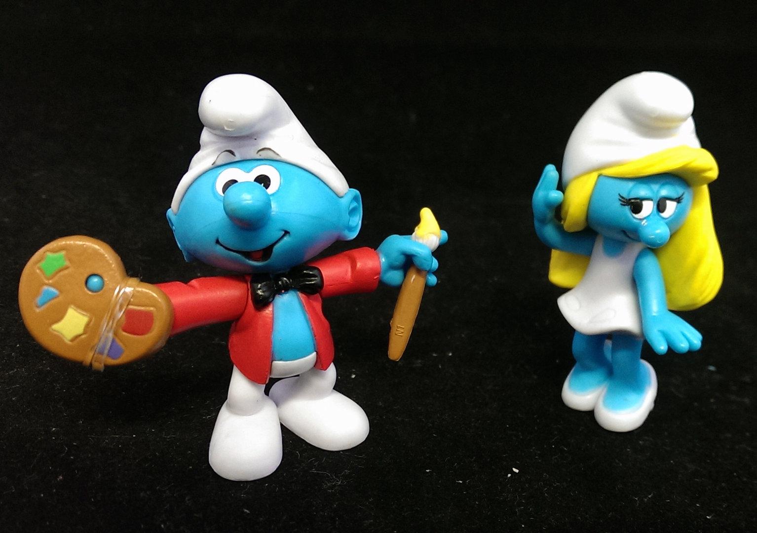 Schlümpfe Figuren
