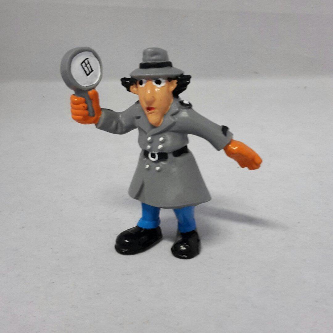 Yol402 Inspector Gadget Mit Lupe Axse Die Welt Der Comicfiguren