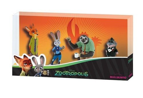 BUL13162 - Disney Zoomania Set (4 Figuren)