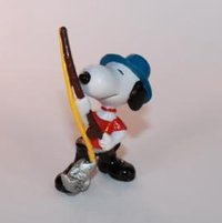 SCH116 Snoopy - Snoopy als Angler