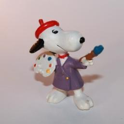 SCH117 Snoopy - Snoopy als Maler