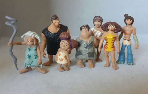 Y90001 - Die Croods Set ( 7 Figuren)