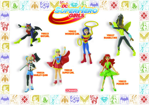 Y99111 - Super Hero Girls-Set (6 characters)