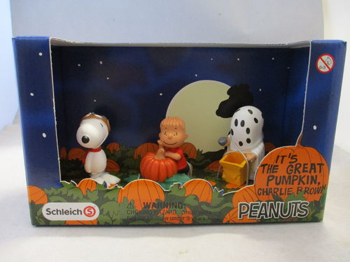 "SCH22015 - Peanuts  ""Halloween Scenery-Pack"""