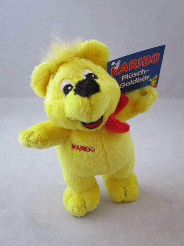 "BEL90528 - Haribo Bear with red bow ""plush"""