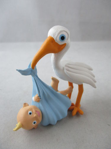Y97310 - Storch with Baby (boy)