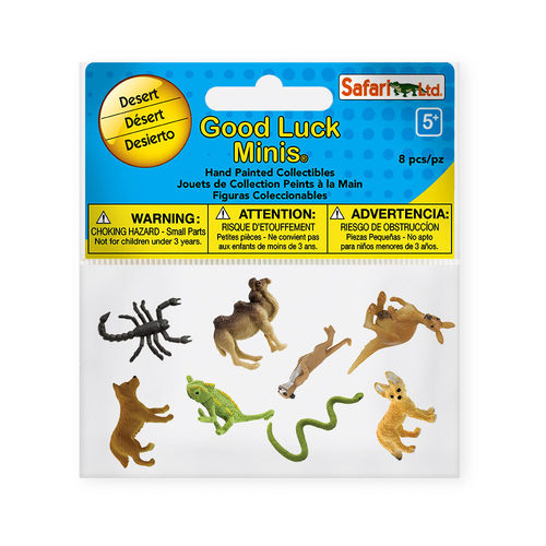 S100255 - desierto - Minis Good Luck-Fun Pack (8 figuras)