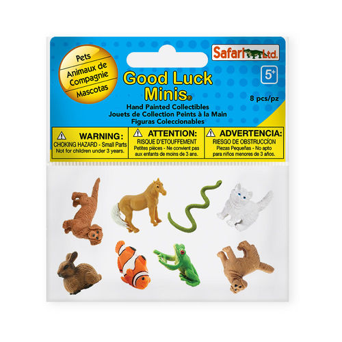 S100257 - animal doméstico - Minis Good Luck-Fun Pack (8 figuras)