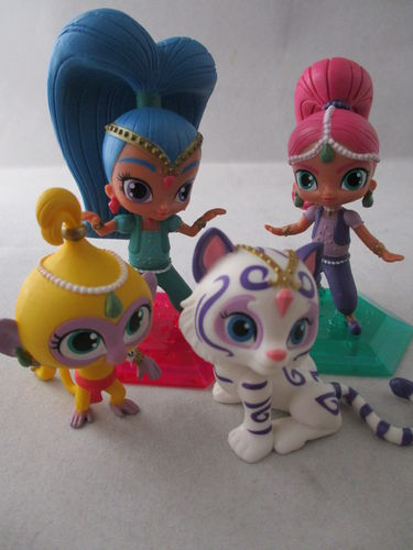 Y90190-1 - Shimmer & Shine-Set (4 Figuren)