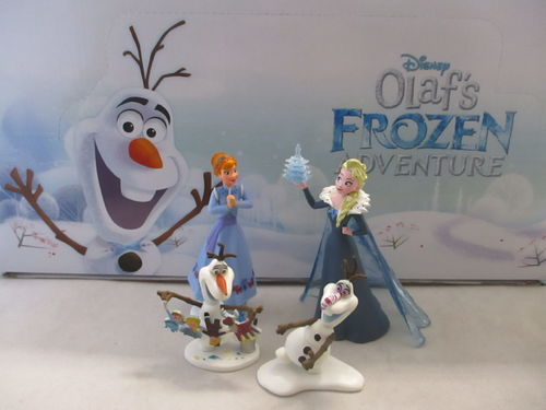 "BUL12939 - Frozen Display Box "" Olaf Melting up"" ( 18 figurines)"