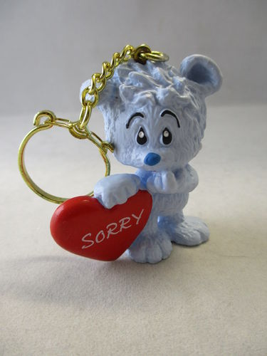 "SCH601 - Tapsel with Heart ""Sorry"" - Key chain"