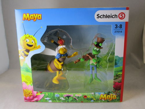 SCH27014 - Abeille Maya film set 3 (2 figures)