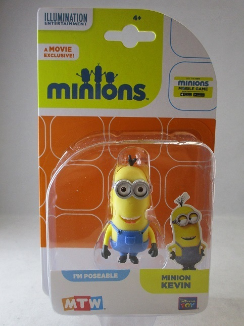Thi20213 Minion Kevin Minions Axse The World Of Comic Figures
