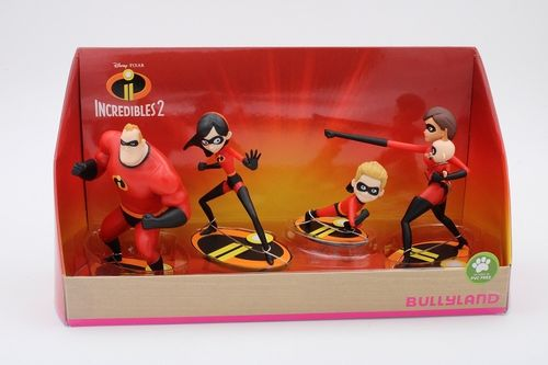 BUL13289 - The Incredibles Set (5 figurines)