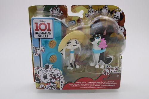 MAT200 - 101 Dalmation Street - Dolly and Hansel (2 figurines)