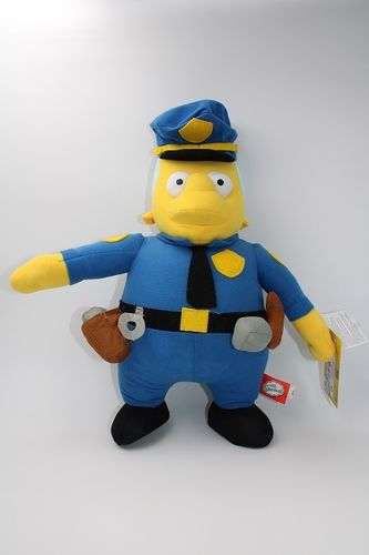 UNI401 - Die Simpsons Plüschfigur - Chief Wiggum