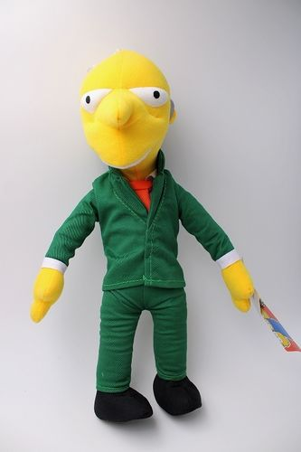 UNI402 - Les Simpson peluche - Mr. Burns
