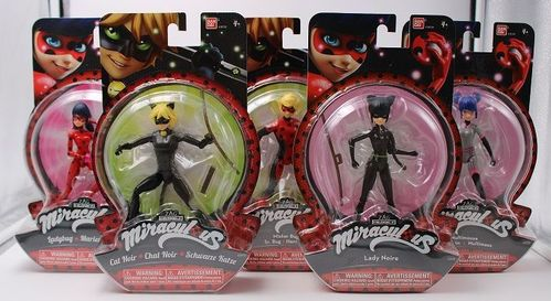 BAN39720 - Miraculous Set (5 Figure)