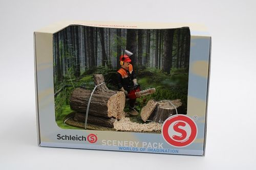 SCH41806 - Forest worker - Scenery Pack