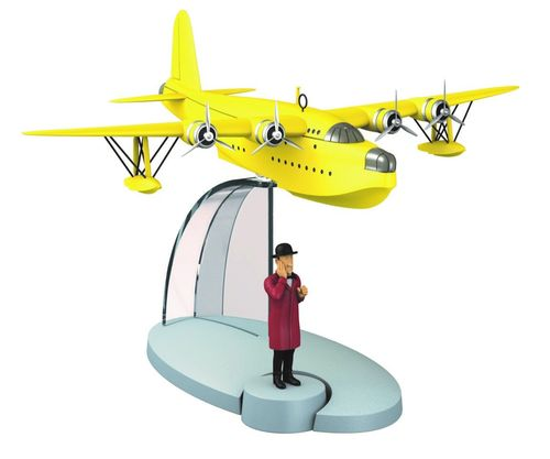 "MA29525 - yellow seaplane with Nestor ""The Seven Crystal Balls"""